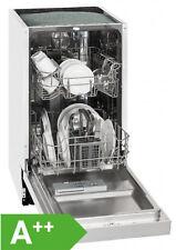 Exquisit EGSP1009E/B Einbau-Spülmaschine / EEK:A++ / 9MG / teilintegriert / 45cm