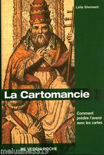 Livre ésotérisme  la cartomancie - Laila Shemesh    book