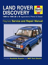 H3016 Land Rover Discovery Petrol & Diesel (1989 to 1998) Haynes Repair Manual