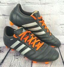 Adidas FG Gloro Mens Black Football Soccer Boots - Size 9.5