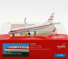 "Herpa 529020 - 1:500: Qantas Boeing 737-800 ""Retro Roo II"" - NEU + OVP"