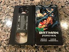 Batman Forever VHS! 1995 Riddler Adventure! Dark Night Green Lantern Catwoman