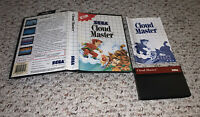 Cloud Master (Sega Master System) COMPLETE Box Manual CIB