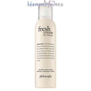 Philosophy Fresh Cream Dry Shampoo 4.3oz / 122g NIB