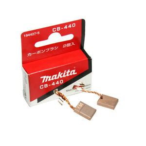Original Makita CB440 Carbon Brushes for Electric Motors 194427-5 3x10x13.5mm