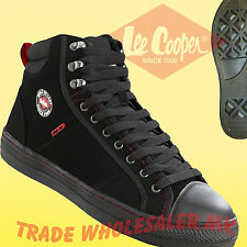 08c07a5390a Lee Cooper Steel Toe Cap Baseball Style Safety Boots.Trainers Shoes LC022