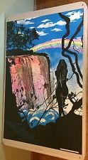 Victoria Falls Vintage Black Light Poster Waterfall Woman *71 Pro Arts Trikillis