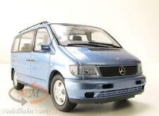 Schuco Mercedes-Benz v 230 minibus en bleu métallisé échelle 1:43 - OVP