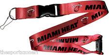 Miami Heat Break Away Lanyard with Double Sided Logo/Graphics