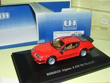 RENAULT ALPINE A310 V6 PACK GT Rouge UNIVERSAL HOBBIES
