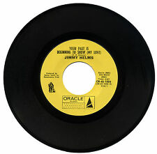 """JIMMY HELMS  """"YOUR PAST IS BEGINING TO SHOW (MY LOVE)""""  NORTHERN SOUL    LISTEN!"""