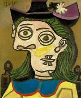 Pablo Picasso Classical Oil Painting Dora Maar Female Portraits 100% Handmade