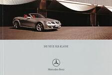Mercedes SLK Prospekt 2004 7/04 Autoprospekt brochure broshura prospectus Auto