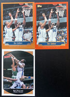 Lot of 3 1999 Ben Wallace Topps/Upper Deck Cards