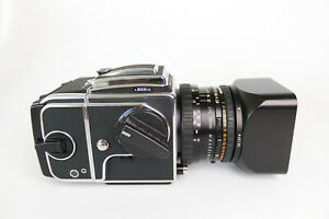 Hasselblad 503cw Silver + Carl Zeiss Planar 80mm f/2,8+ Magazin A12