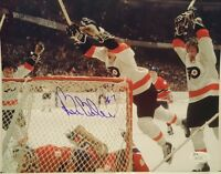 Bill Barber Signed Philadelphia Flyers 8x10 Photo  JSA COA