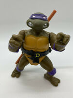Vintage 1988 Playmates TMNT Donatello Action Figure Partially Complete Soft Head