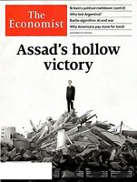 THE ECONOMIST MAG SEPTEMBER 7-13 2019- ASSAD'S HOLLOW VICTORY---NEW SHIPS FREE