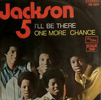 THE JACKSON 5 - I'LL BE THERE - ONE MORE CHANCE 45 RPM ITALY PROMOTIONAL