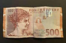 More details for 1997 austria 500 schilling banknote pre euro - good circulated