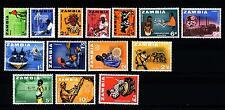 ZAMBIA - 1964 - Serie ordinaria (14 val.)