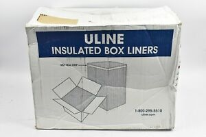 "ULINE INSULATED BOX LINERS 12x10x9""  (25 LINERS TO A CASE)  S-15222"