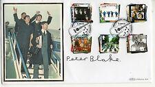 "Peter Blake ""The Beatles"" 2007 firmado Benham FDC"