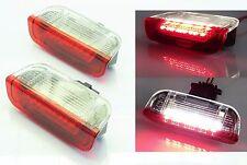 LED SMD Tür Einstiegs Beleuchtung Leuchte Licht Lampe weiß / rot SEAT Hinten