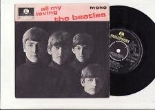 RARE EP THE BEATLES ALL MY LOVING-MONO PARLOPHONE GEP 8891-UK-1 ER Pres