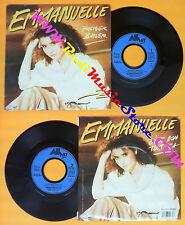 LP 45 7'' EMMANUELLE Premier baiser C'est bon tout ca 1986 france no cd mc dvd