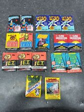 Lot of 17 Topps Movie TV Wax Packs