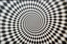 WARP OPTICAL ILLUSION TRIPPY POSTER (61x91cm)  PICTURE PRINT NEW ART