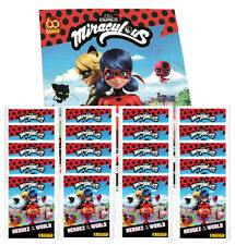 Panini Miraculous Ladybug Heroez in the World Sticker – 1x Album + 20x Tüten