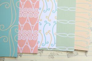 Line Patterns scrapbooking paper 250gsm craft paper journal cardmaking cardstock