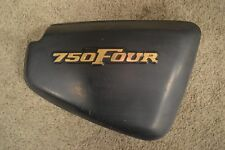 1977-78 Honda CB750 F Supersport Side Cover with Emblem .... Cafe, Restore