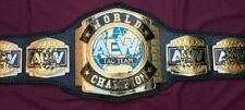 AEW WORLD TAG TEAM CHAMPIONSHIP WRESTLING  BELT ADULT SIZE 4mm Zinc Plates
