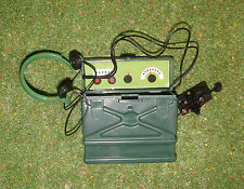 Vintage Action Man 40th Action soldat Code Morse vert Radio Jouet