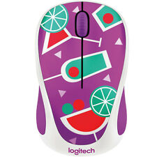 "Logitech M238 ""Party Collection"" Wireless Mouse - COCKTAIL"