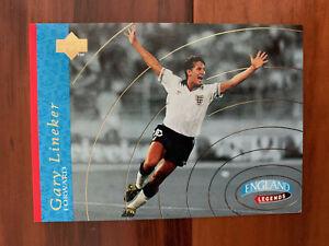 1997 Upper Deck England Soccer Card - GARY LINEKER Mint
