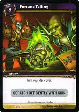 WOW Fortune Telling LOOT CARD UNSCRATCHED NEW - WORLD OF WARCRAFT