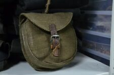 Original Russian, Round Canvas ammo pouch, for classic Soviet rifle WW2