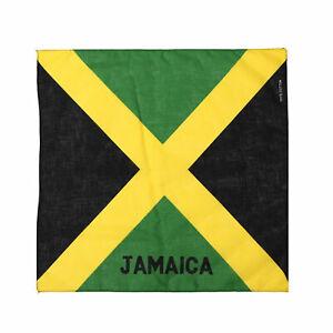 JAMAICA FLAG - BANDANA - CARRIBEAN COUNTRY