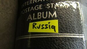 Russia stamp collection in Scott Int'l album to 1980 w/ many 1,ooo's
