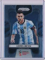 Lionel Messi  2018 Panini Prizm World Cup #1 Argentina Soccer