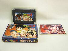 DRAGON BALL Z Kyoshu Saiya Item REF/ccc Famicom Nintendo Japan Game fc