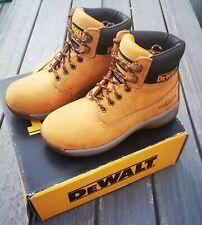 DeWalt Apprentice Honey Safety Boots ~ Steel Toecap ~ UK Size 6 EU 40