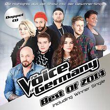 2CD*THE VOICE OF GERMANY**BEST OF 2014 (INCL. WINNER-SINGLE)***NAGELNEU & OVP!!!