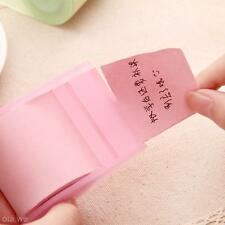 Fluorescent Paper Sticker Memo Pad Sticky Notes Post It Kawaii Stationery Pink