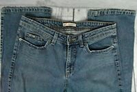 Lee Mid-Rise Bootcut Lower on Waist Jeans Medium Wash Stretch Womens Size 12M