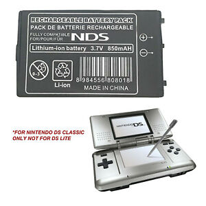 Battery For Nintendo DS Original Classic High Capacity Fast post